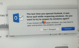Office 2016 crashes a lot on OS X El Capitan