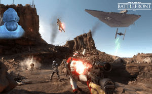 Free-to-play Star Wars Battlefront Beta now available