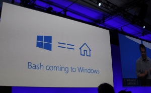 Installing a Linux Bash Shell on Windows 10