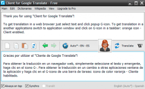 Google, TRANSLATE!