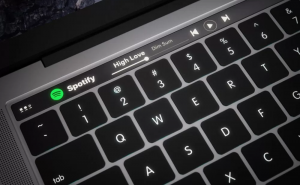 Spotify now has special features for the new MacBook Pro