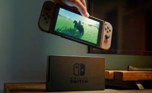 Nintendo Switch's touchscreen will embed haptic technology