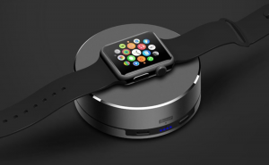 Wireless power bank chargers for the Apple Watch