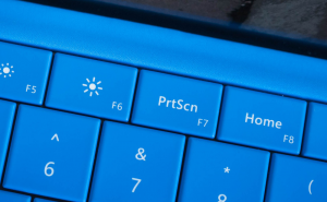 Take screenshots in Windows 10