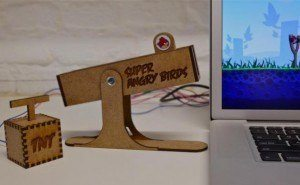 Physical Slingshot Controller for Angry Birds