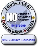 BVS Solitaire Collection Clean Award