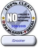 iSnooker Clean Award