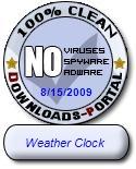 Weather Clock Clean Award