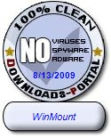 WinMount Clean Award