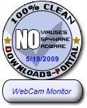 WebCam Monitor Clean Award