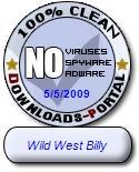 Wild West Billy Clean Award