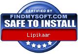 FindMySoft certifies that Lipikaar is SAFE TO INSTALL