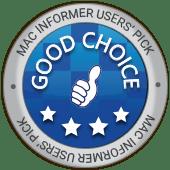 Mac Informer User choice award