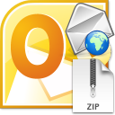 Outlook Zip and Email Files Quickly Software