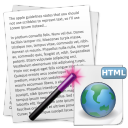 Convert Multiple Text Files To HTML Files Software