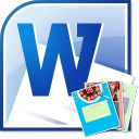 MS Word Photo Greeting Card Template Software