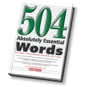 Overlearning Of 504 Absolutely Essential Words