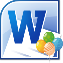 MS Word Party Invitation Template Software