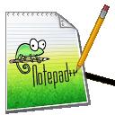 UALw com Notepad++