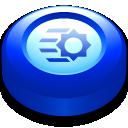 Blue Jet Button