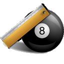 8 Ball Ruler