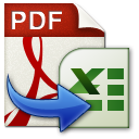 Wondershare PDF to Excel