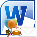 MS Word Birthday Party Invitation Template Software