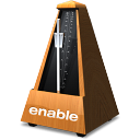 enable Metronome