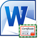 MS Word Award Certificate Template Software