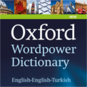 Oxford Wordpower Dictionary English-English-Turkish