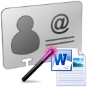 VCF To MS Word Doc Converter Software
