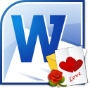 MS Word Valentines Day Card Template Software