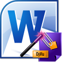 MS Word To DjVu Converter Software