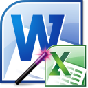 MS Word Import Multiple Excel Files Software
