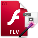 Convert Multiple FLV Files To MPEG or AVI Files Software
