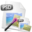 Convert Multiple PSD Files To JPG Files