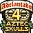 Adelantado 4 - Aztec Skulls