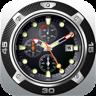 Desktop Clock: Desktop Wallpaper Clock & Dock Icon Watch