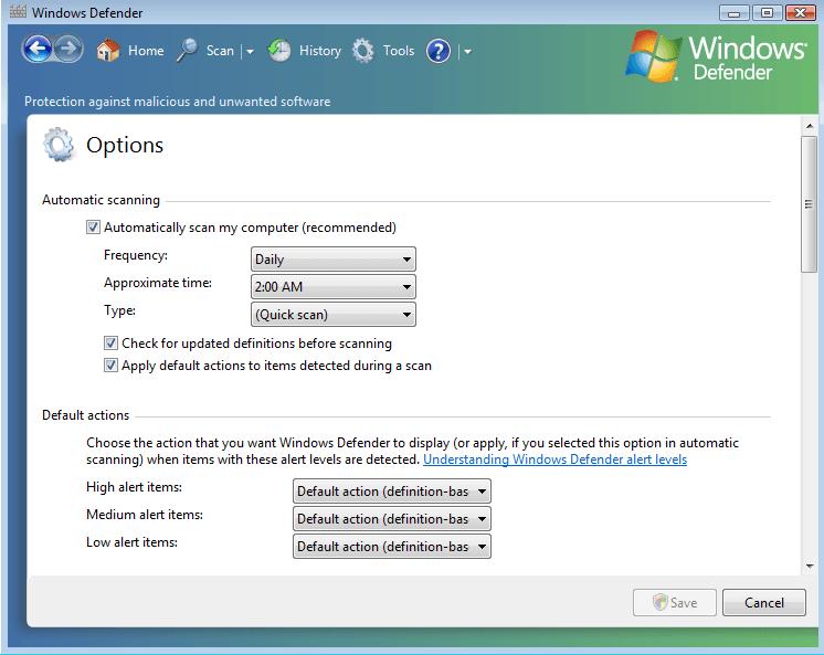 New Software For Vista Free Download Windows Defender