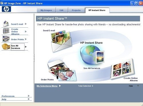 HP Instant Share