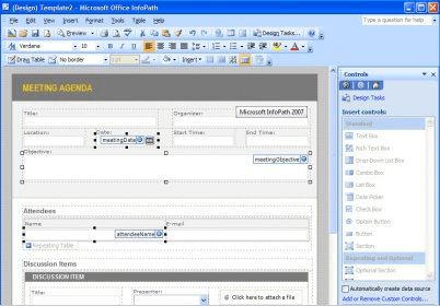 free infopath templates - microsoft office infopath 12 0 download free trial