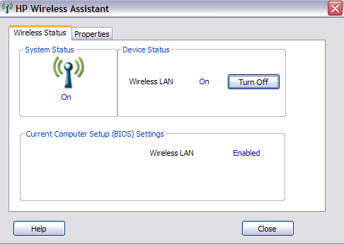Download HP Wireless Assistant