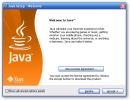 Java installation welcome