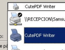Print using CutePDF Writer
