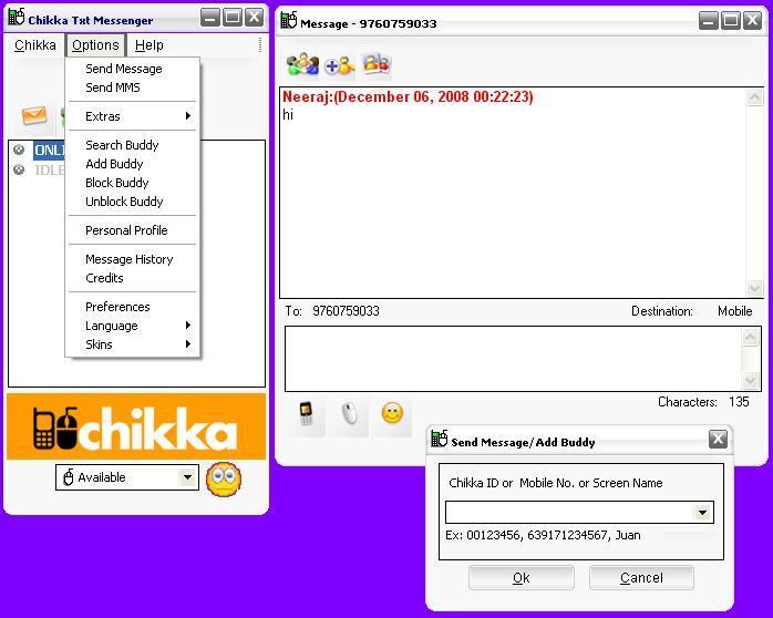 Chikka Messanger Download