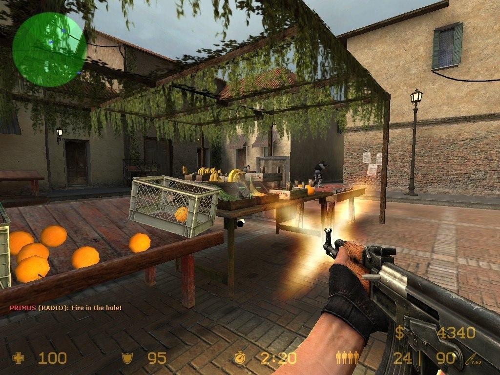 Shooting at the market