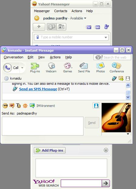 Yahoo! Messengerscreenshots