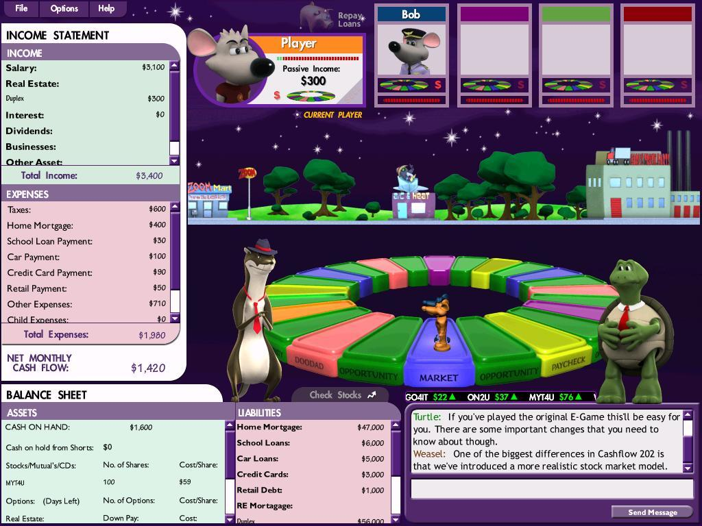 Download game Cashflow & Full How To Get Rich and Successful in Life