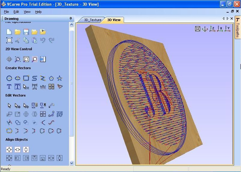 VCarve Pro Software Informer Screenshots