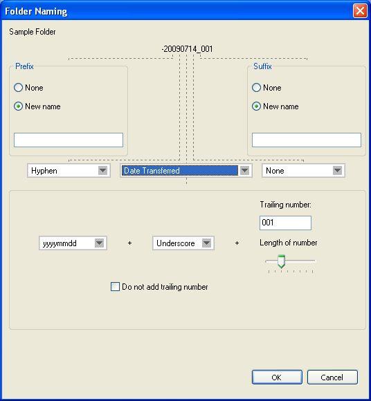 Folder naming